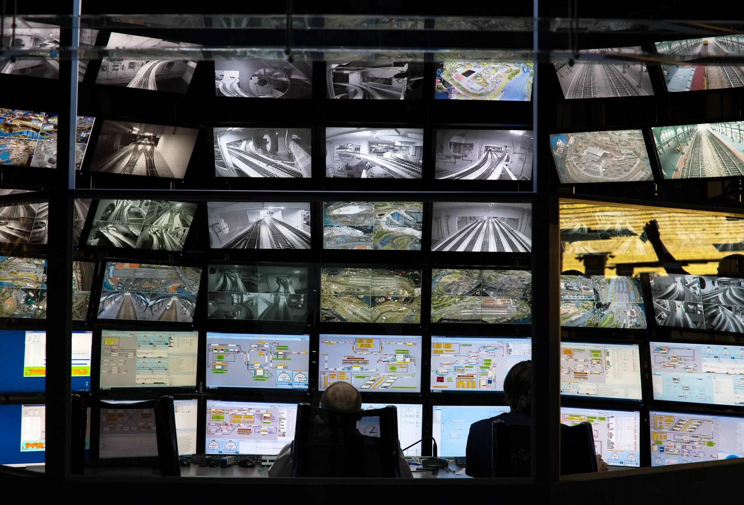 alarm system control room